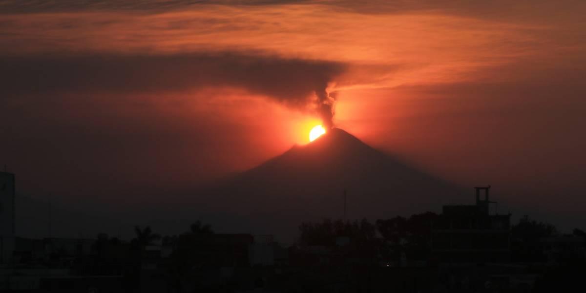 Realiza Puebla simulacro por contingencia volcánica en el Popocatépetl