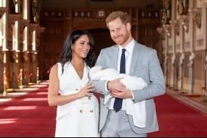 Filho de Meghan Markle e príncipe Harry
