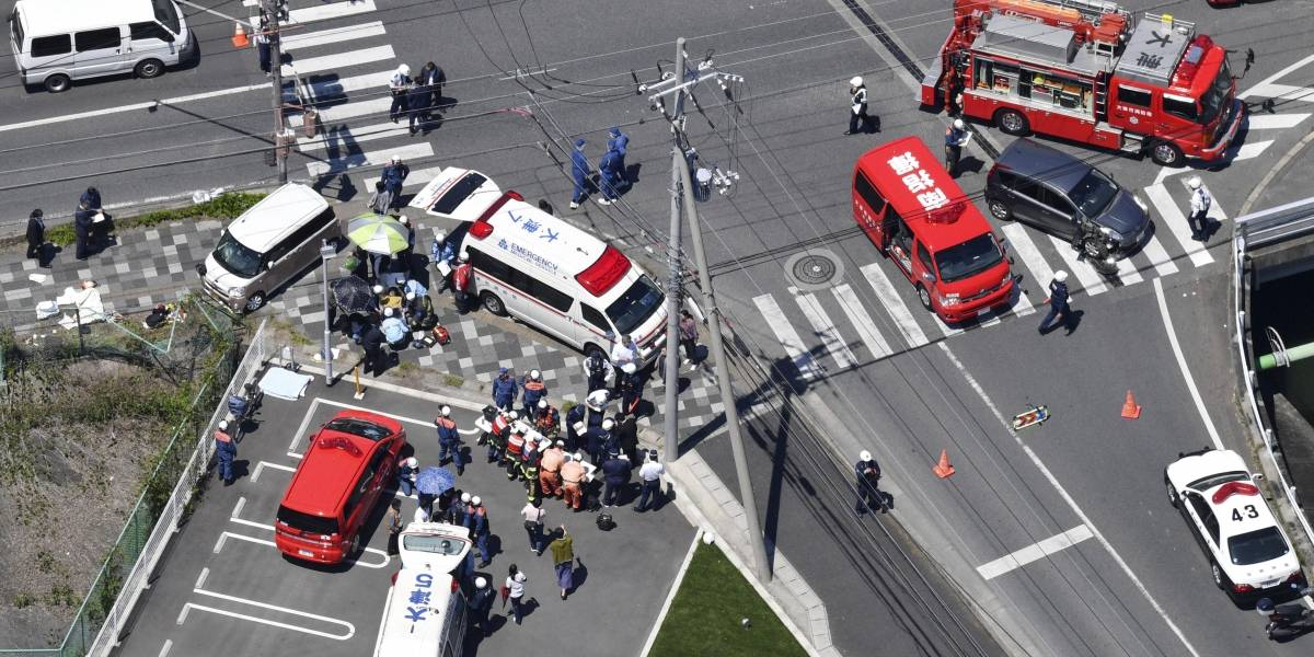 Mueren dos niños por un atropello masivo en Japón; hay dos heridos