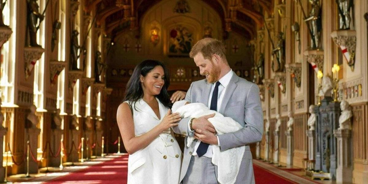 Revelan nombre del bebé de Meghan y el príncipe Harry