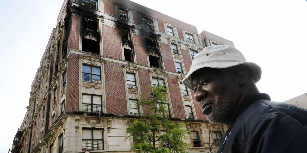 Incendio en Nueva York deja 6 muertos, incluyendo 4 niños
