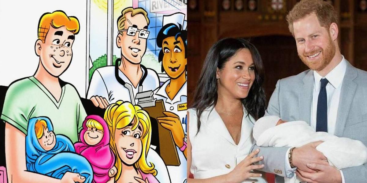 Produtores de Riverdale comentam escolha do nome do filho de Meghan Markle e príncipe Harry