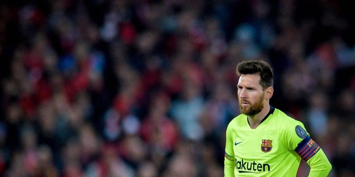 Messi y plantilla son insultados tras su eliminación de Champions League