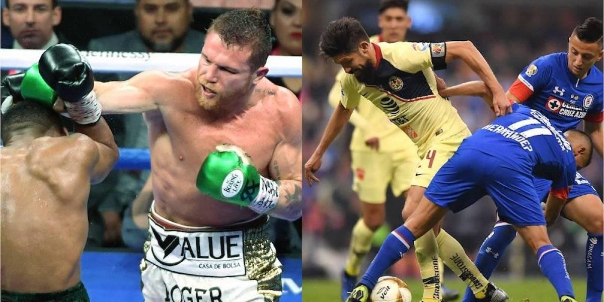 'Canelo' Álvarez tuvo más rating que la última final entre América y Cruz Azul
