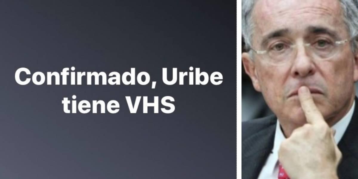 """Uribistas insultan por publicación que dice que """"confirman que Uribe tiene VHS"""""""