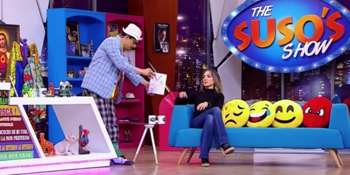 Este fue el regalo íntimo que Suso le dio a Camila Zuluaga, ¡y en frente de su esposo!