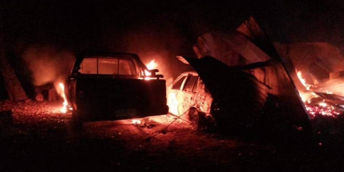 Dos adultos mayores mueren tras incendio que destruyó vivienda en Collipulli