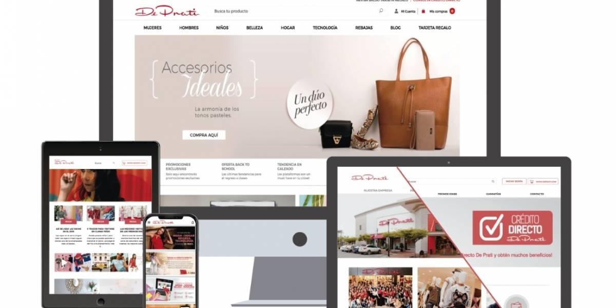 De Prati reinventa la compra online con su renovada tienda virtual