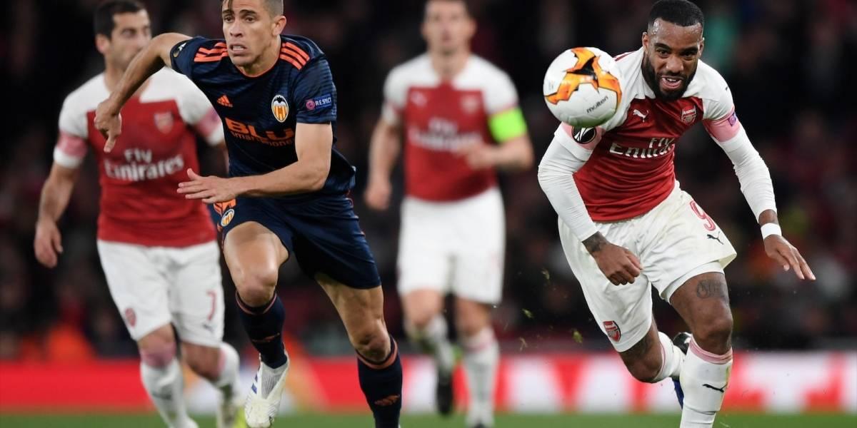 Valencia y Arsenal van en busca de un cupo a la final de la Europa League