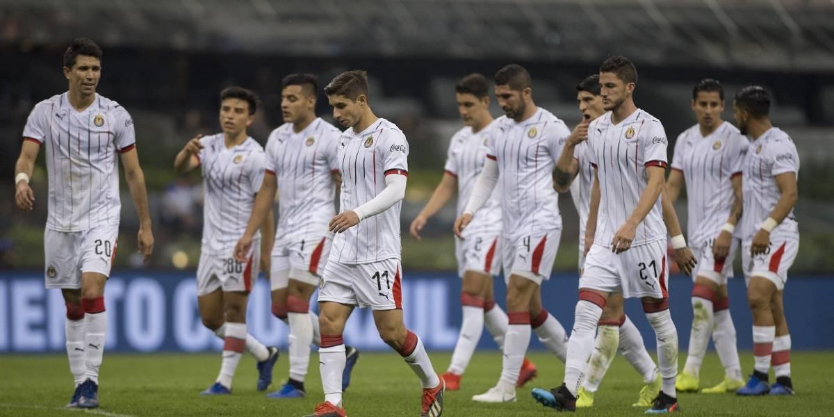 """Tres jugadores de Chivas que se """"salvan"""" en el Clausura 2019"""