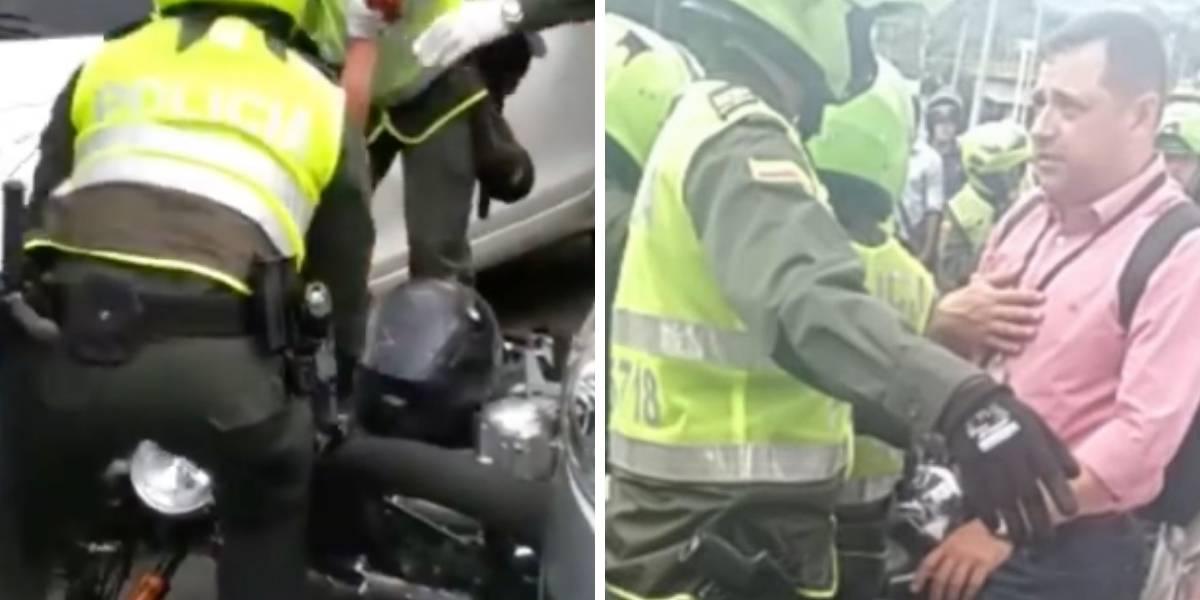 En medio de disputa víctima de fleteo hiere a presunto delincuente