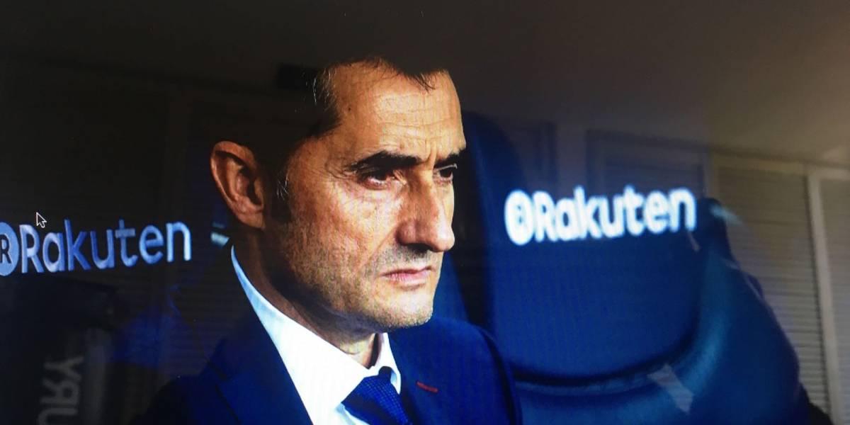 Valverde en el Barça, ¿despedida inminente?