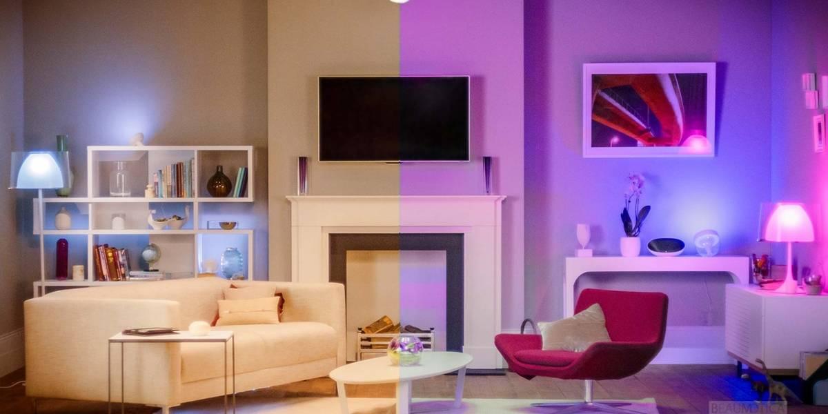 Iluminación inteligente para embellecer tu hogar