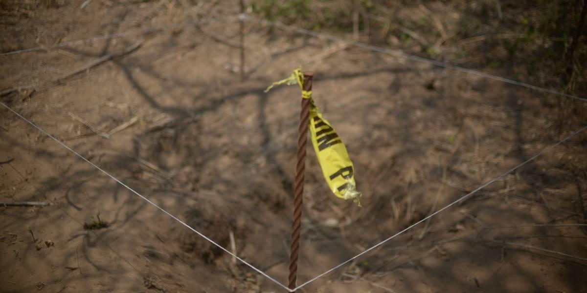 Investigan fosa clandestina al interior de penal en Coatzacoatcos