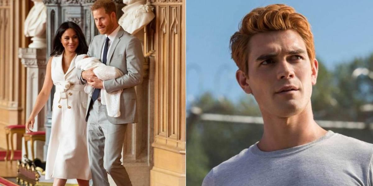 Archie? Fãs de Riverdale comemoram, mas nome do bebê real é homenagem a Diana