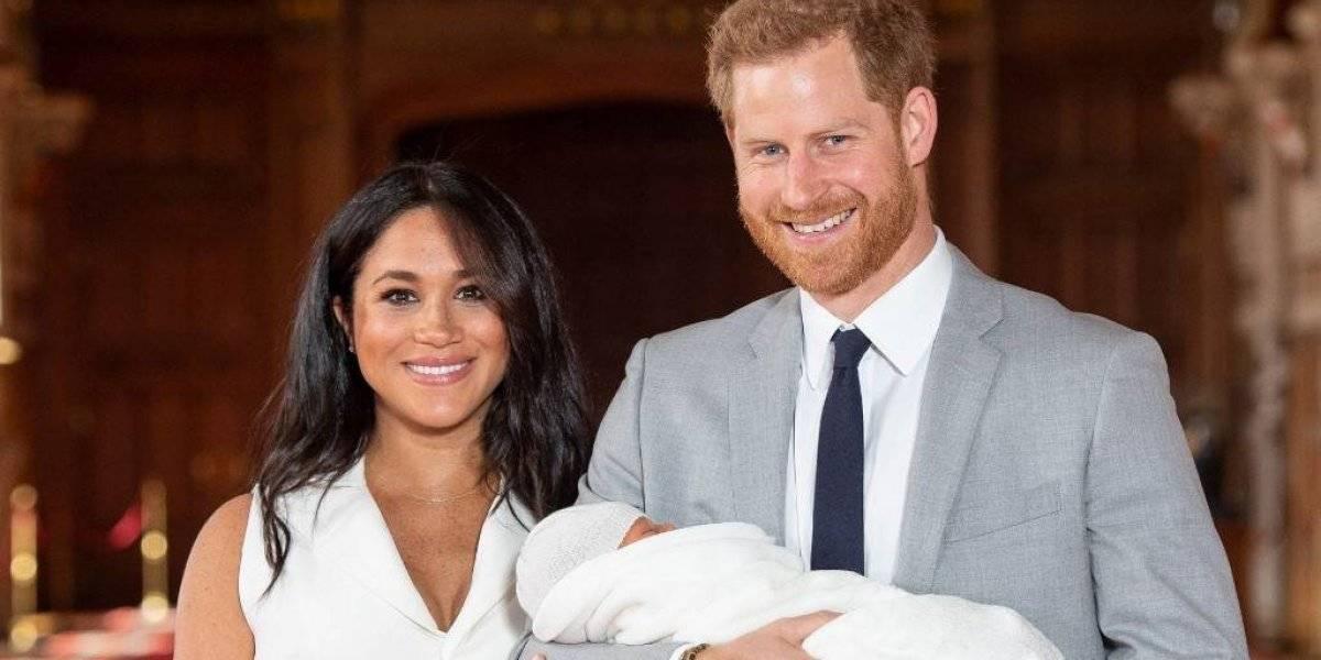 Revelan el nombre oficial del hijo de Meghan Markle y el príncipe Harry