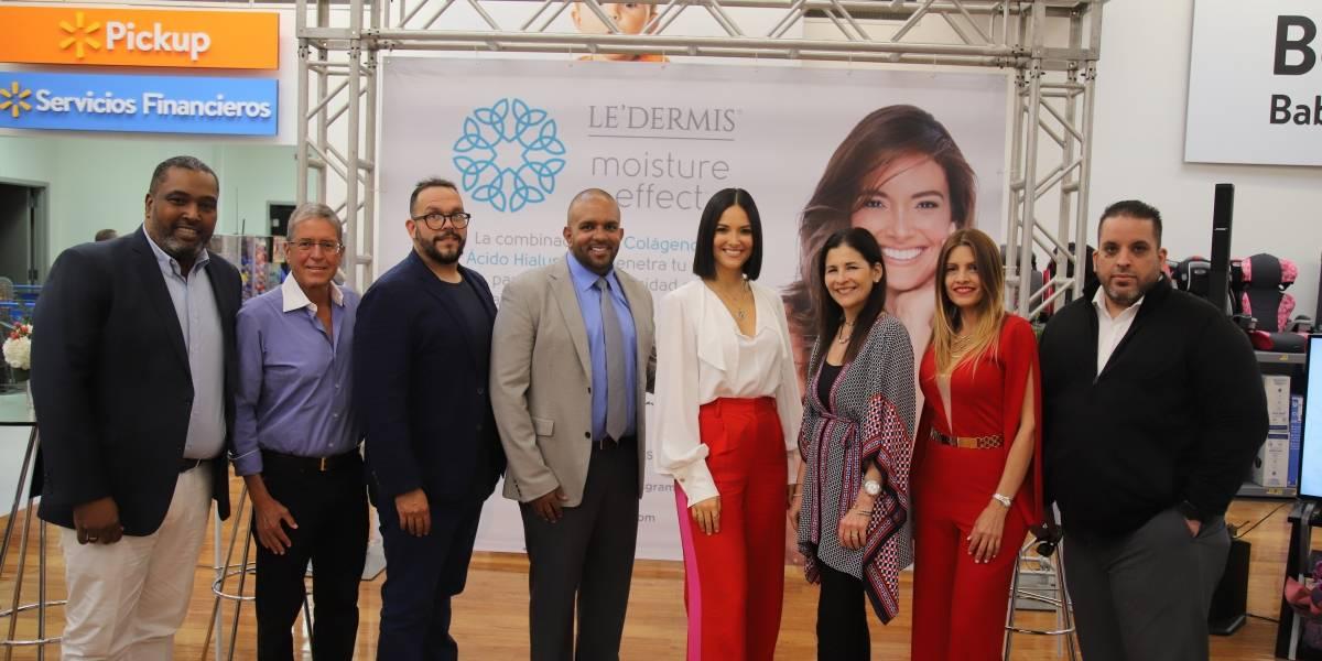 Denise Quiñones presenta nuevo empaque de Le'dermis