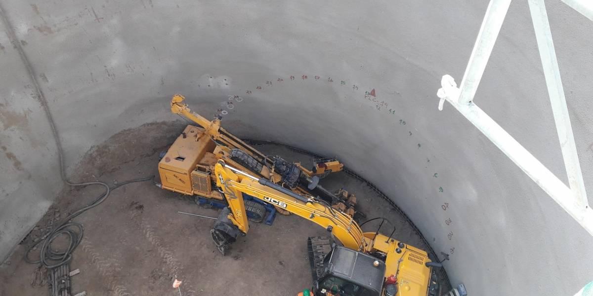 JCB se sumerge en los túneles del Metro