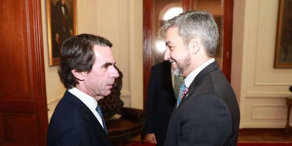 José María Aznar apoya intervención en Venezuela