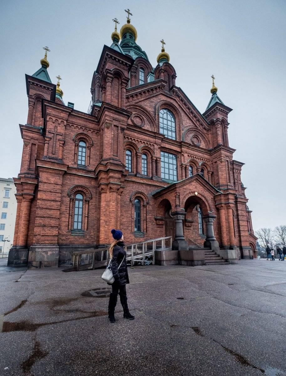 Catedral Uspenski en Helsinki, Finlandia | Suministrada por Latitud Perfecta