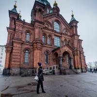 Catedral Uspenski en Helsinki, Finlandia