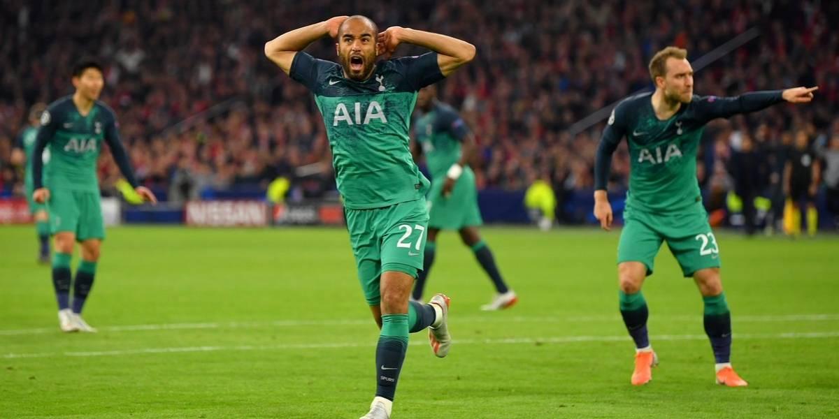 Épica remontada del Tottenham y está en Madrid