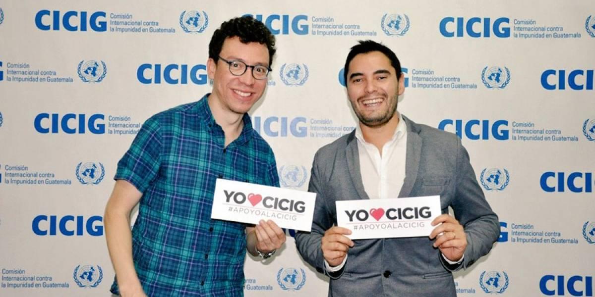 Luis von Ahn refrenda apoyo a combatir la corrupción en sede de Cicig