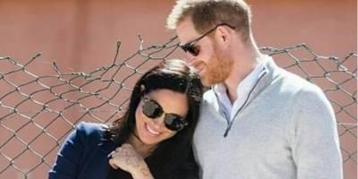 Meghan Markle y el príncipe Harry presentaron a su bebé