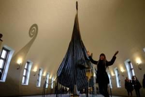 Museo del barco vikingo en Oslo, Noruega