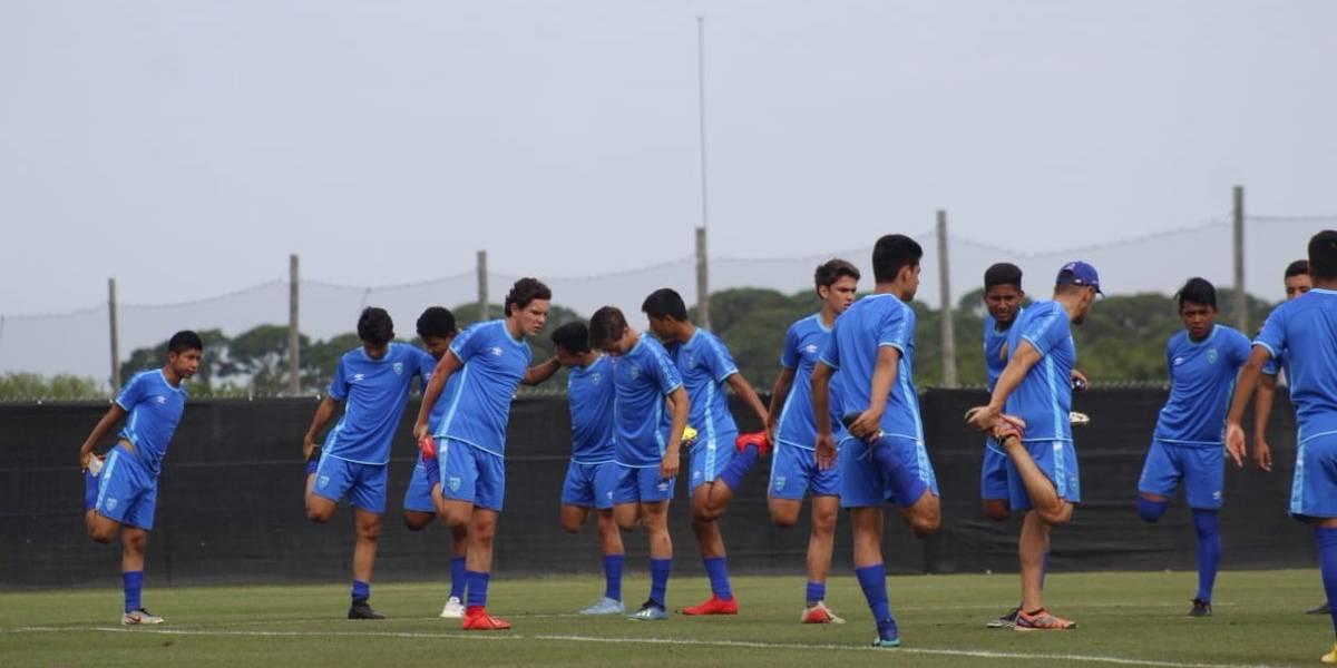 Premunidal Sub17: Guatemala prepara estrategia para enfentarse a Panamá