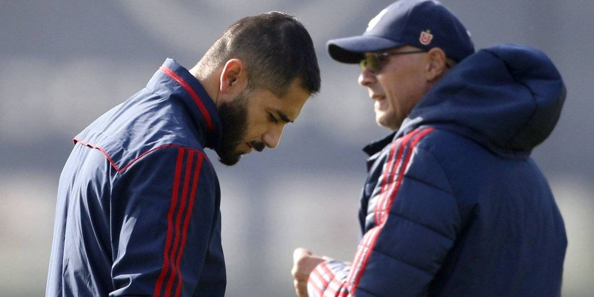 Arias analiza su primer golpe de timón en la U y dejaría fuera a Johnny Herrera frente a Coquimbo