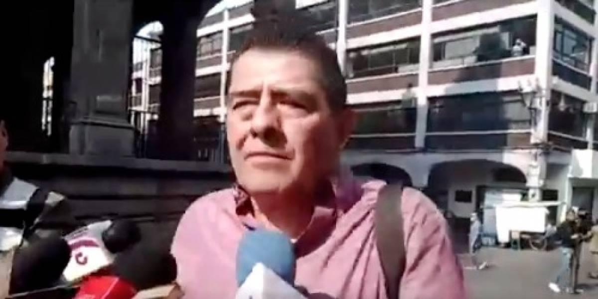VIDEO: Se desata balacera en entrevista con ex árbitro Gilberto Alcalá