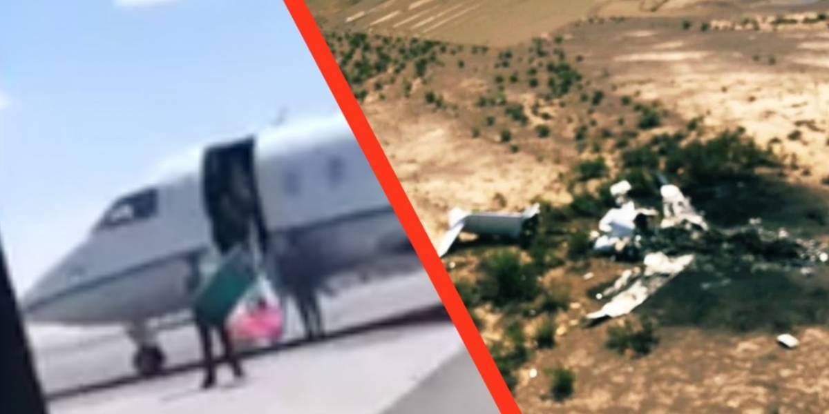 Sale a la luz último video de joven que viajaba en el vuelo de Las Vegas que cayó en Coahuila