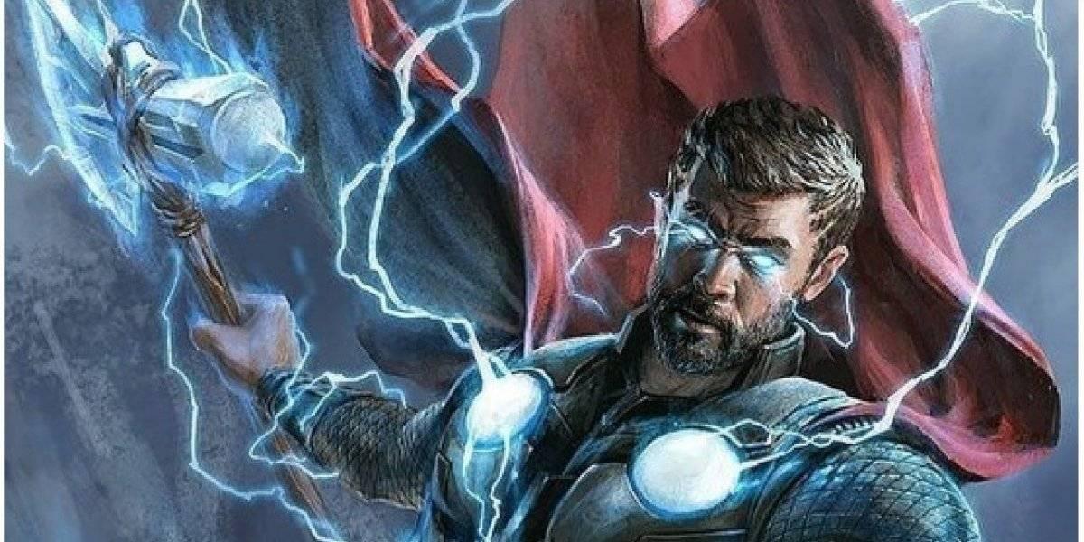 Avengers EndGame: El beso que Thor debía dar en la película