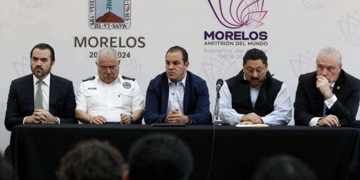 Cuauhtémoc Blanco pide intervención de la Guardia Nacional en Morelos