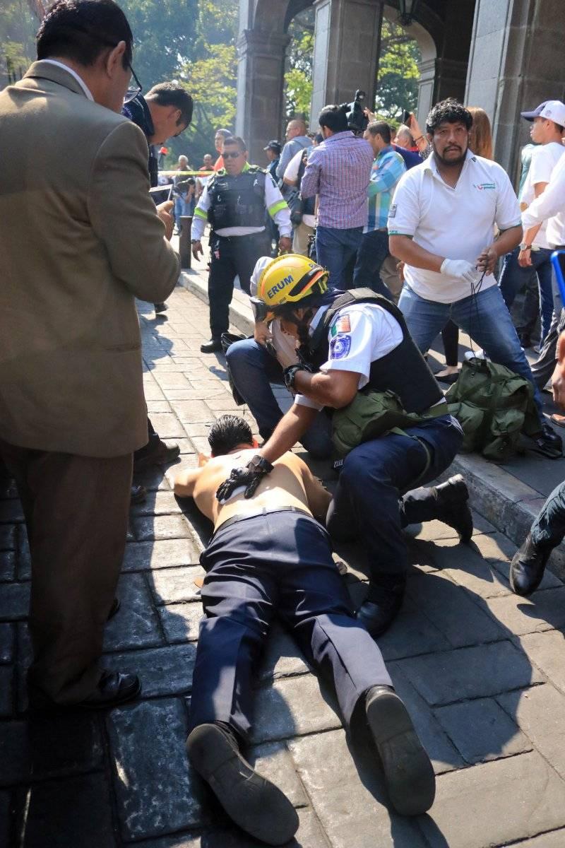 El saldo de la balacera es un muerto y tres heridos. Foto: Cuartoscuro
