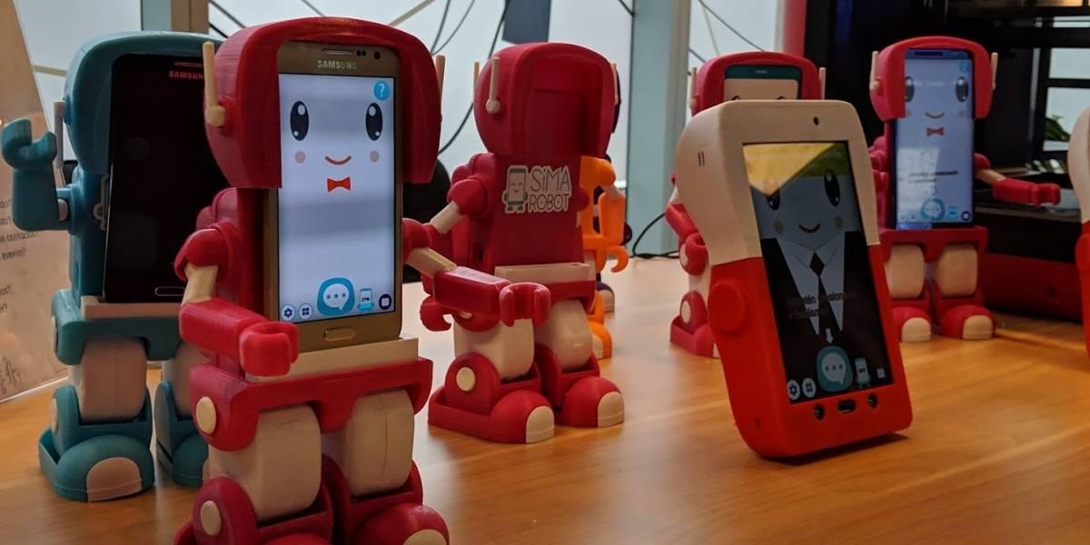 Este es Sima, el primer robot educativo hecho en Chile