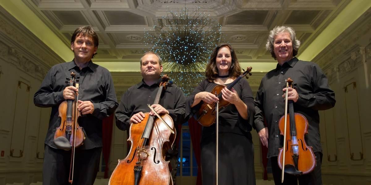 Quarteto de Cordas da Cidade de SP interpreta Mozart e Brahms