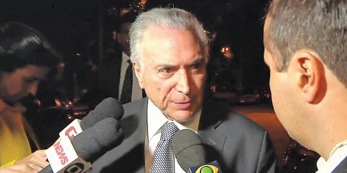 Michel Temer vai se entregar voluntariamente nesta quinta; ex-presidente voltará para prisão