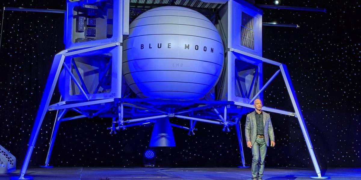 Blue Moon: Esta es la nave que pretende llevar Jeff Bezos a la Luna