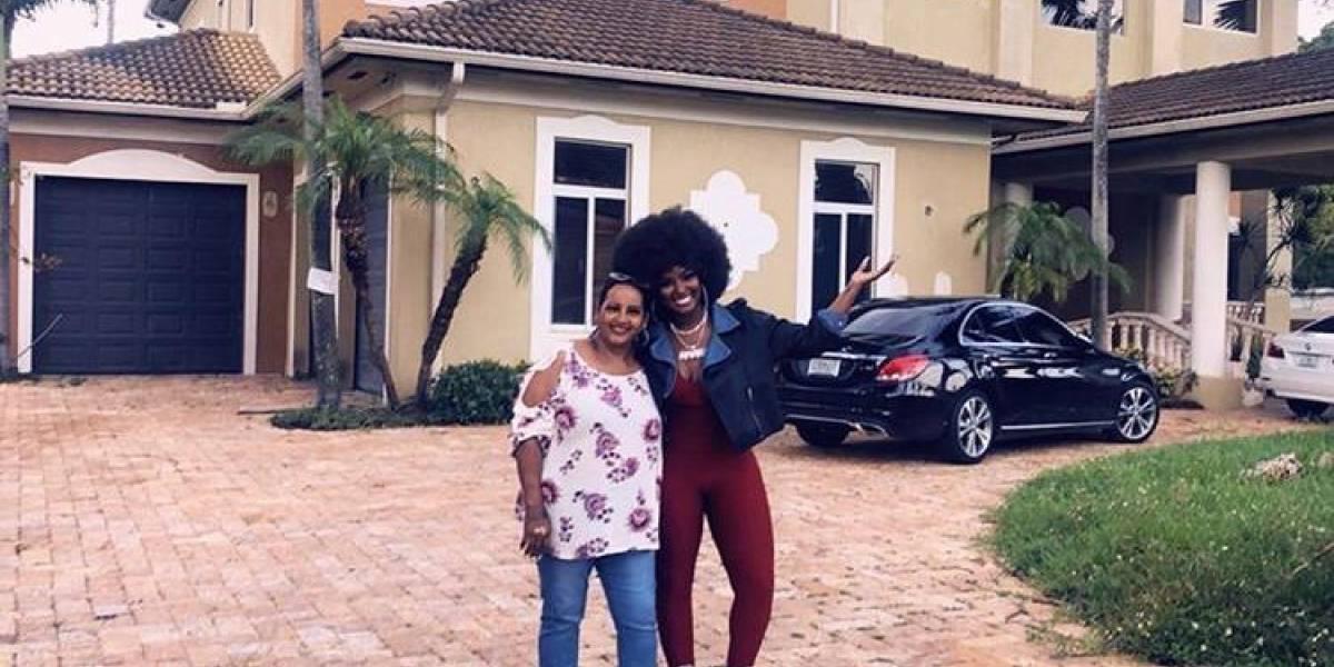 Amara la Negra regala mansión a su madre en Miami