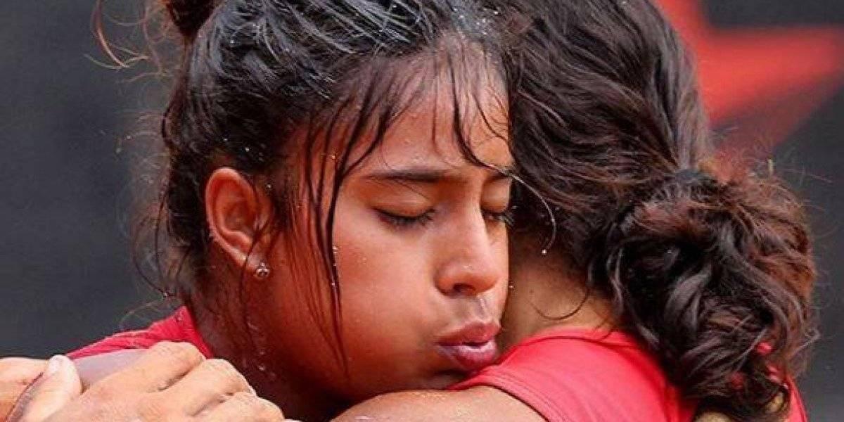 Ana Sofía Gómez vivió un emotivo momento en su salida de Exatlón Estados Unidos