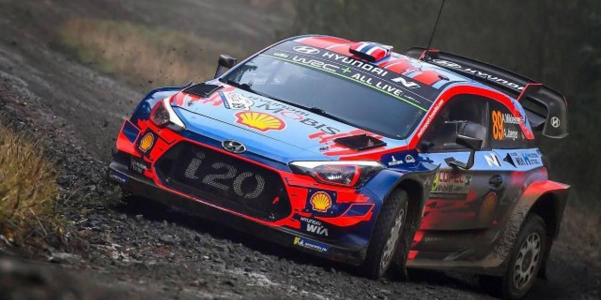 Andreas Mikkelsen sigue en racha y fue el más rápido en el Shakedown en el WRC de Chile