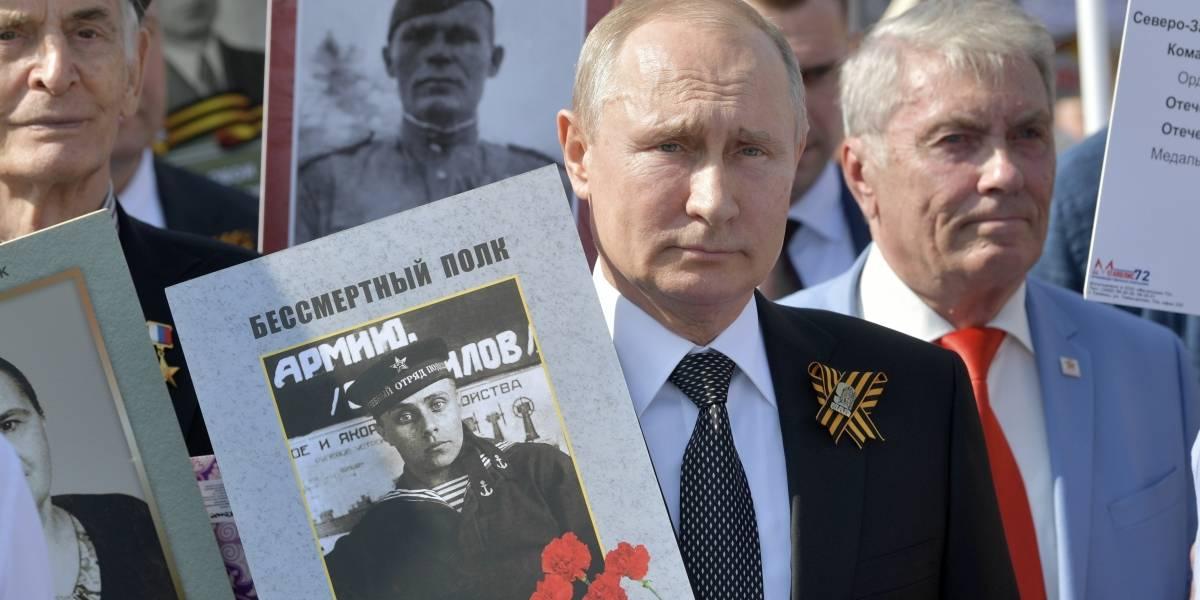 Putin llama al mundo a combatir el terrorismo en el Desfile de la Victoria