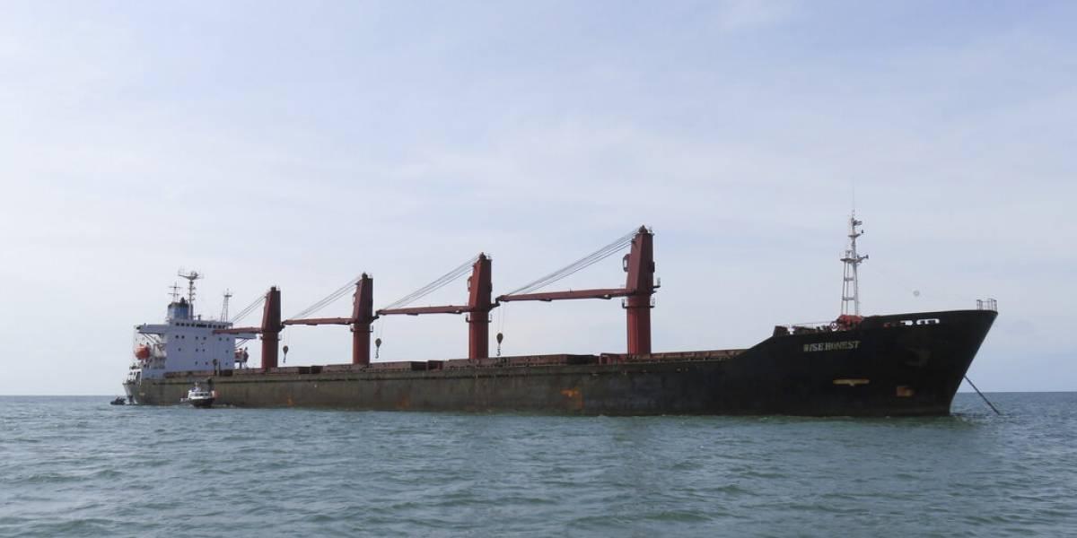 Estados Unidos incauta buque de Corea del Norte por violar sanciones
