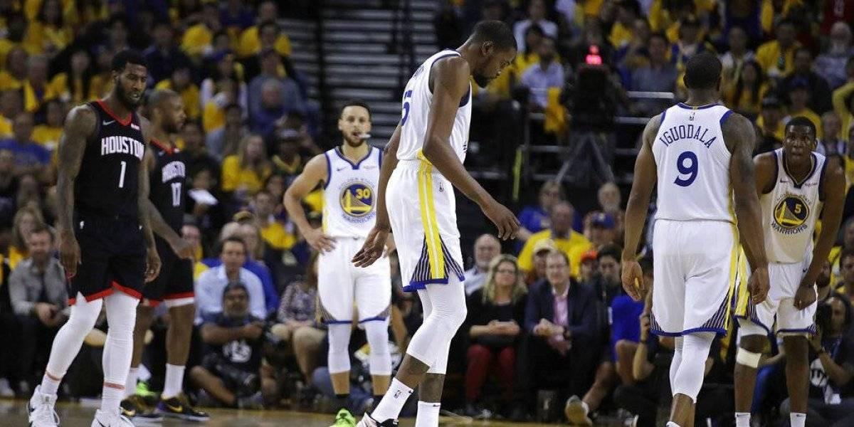 Desastre para los Warriors: Kevin Durant se perderá el resto de la serie ante los Rockets