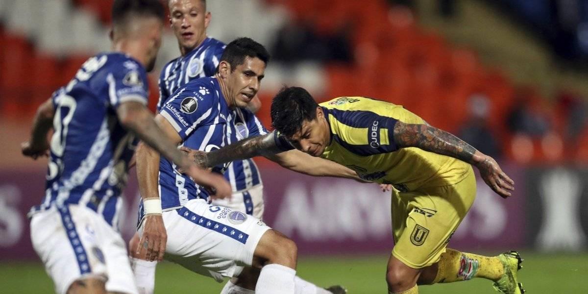 La U. de Concepción completó la debacle chilena en la Libertadores y quedó fuera de todo tras caer con Godoy Cruz