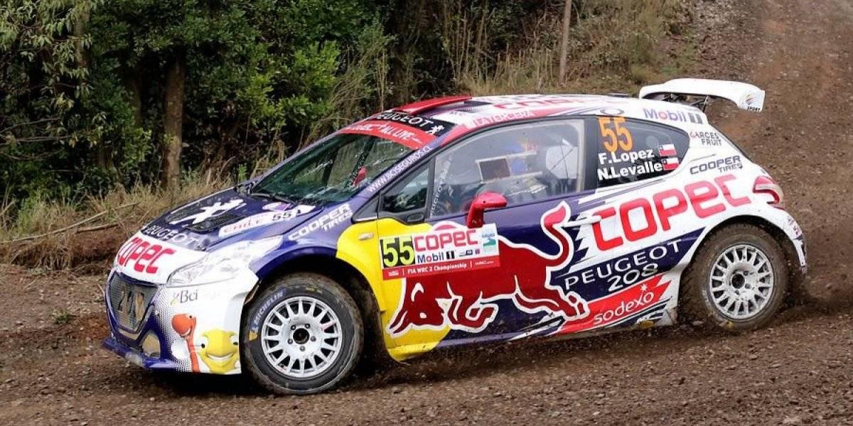 El gran susto que se llevaron Pedro Heller y Francisco Chaleco López en el WRC de Chile
