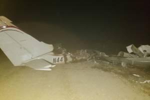 localizan avioneta incinerada en Alta Verapaz