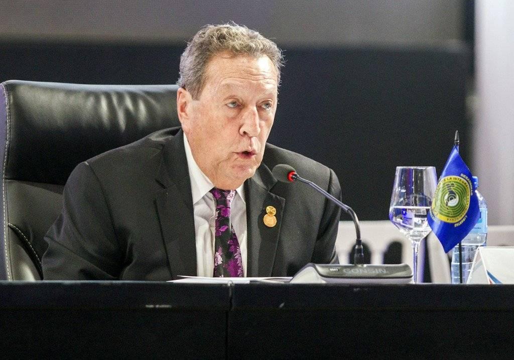 Vinicio Cerezo, secretario general del Sica